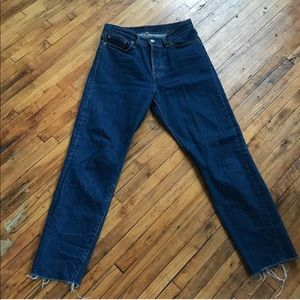 Levi's high waist wedgie fit jeans